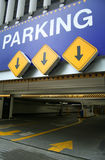 Entrée de stationnement Image libre de droits