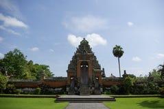 Entrée de temple dans Bali photographie stock libre de droits