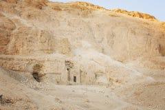 Entrée de temple de roche Photo libre de droits
