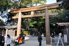 Entrée de tombeau de Yoyogi Image stock