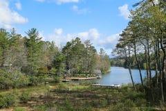 Entrée de Toxaway de lac Image libre de droits