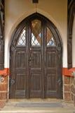 entrée de trappe d'église Images libres de droits