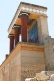 Entrée du nord 2 de Knossos Image stock