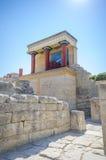 Entrée du nord 1 de Knossos images libres de droits