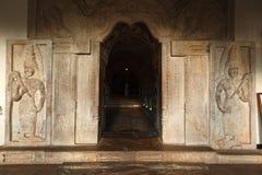 Entrée du temple de la dent. Photo stock