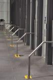 Entrée en aluminium de barrière Photos libres de droits