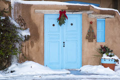 Entrée en Santa Fe Photos stock