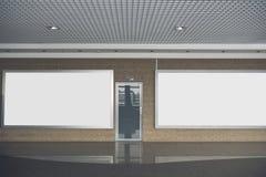 Entrée fermée grise situant à l'intérieur Image stock