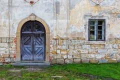 Entrée latérale l'église Petit côté prague photographie stock