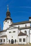 Entrée médiévale d'église Image libre de droits