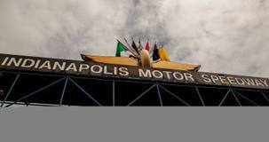 Entrée pour l'Indy 500 Photo libre de droits