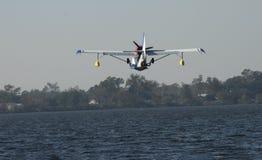 Entrée pour un atterrissage Photographie stock libre de droits