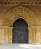 Entrée principale, église de San Lorenzo, Cordoue, Espagne photos stock