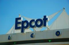 Entrée principale d'Epcot Image libre de droits