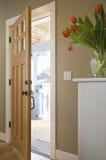 Entrée principale d'une résidence domestique Image libre de droits