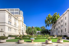 Entrée principale de Caltech Photos libres de droits