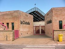 Entrée principale de musée de Civitella de La photo libre de droits
