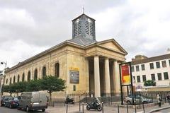 Entrée principale de rue Pierre du Gros Caillou. Image libre de droits