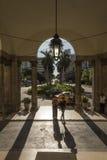 Entrée principale La Havane de Nacional d'hôtel Photos libres de droits