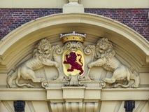 Entrée principale néerlandaise du parlement Photos stock