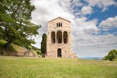 Entrée principale Santa Maria del Naranco Images libres de droits