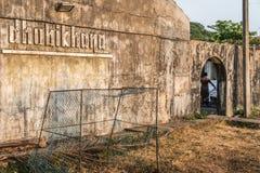 Entrée publique de l'Inde de khana de Kochi Dhobi de fort de blanchisserie photos libres de droits