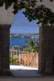 Entrée vers Acapulco images stock