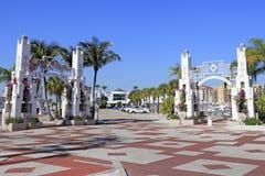 Entrées de Sarasota Bayfront Photos stock
