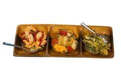 Entrées gastronomes de mer Photographie stock libre de droits