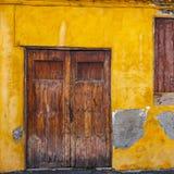 Entrées principales colorées à la maison Photos stock