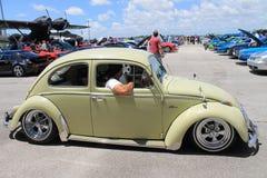 Entraînement classique de scarabée Photographie stock libre de droits