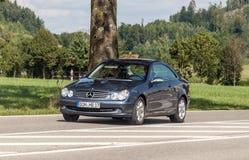 Entraînement de Mercedes photo libre de droits