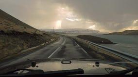 Entraînement en Islande banque de vidéos
