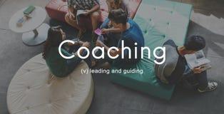 Entraînement instruisant l'instructeur Management Concept image stock