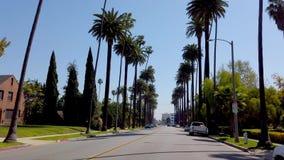 Entraînement par Beverly Hills California - LOS ANGELES, Etats-Unis - 1ER AVRIL 2019 banque de vidéos