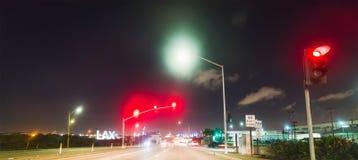 Entraînement par LAX la nuit Images libres de droits
