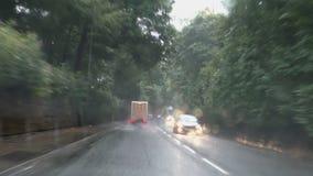 Entraînement sous la pluie d'été clips vidéos