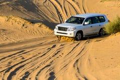 Entraînement sur le désert Photographie stock libre de droits