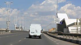 Entraînement sur le pont baptisé du nom du soixantième anniversaire de la victoire omsk clips vidéos