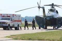 Entraînements militaires médicaux Photographie stock