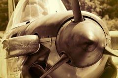 Entraîneur de mentor de la deuxième guerre mondiale T-34 de marine des USA Images libres de droits