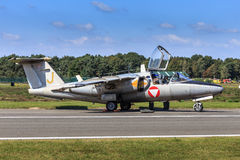 Entraîneur de Saab 105 Images libres de droits