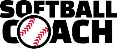 Entraîneur du base-ball Photographie stock libre de droits