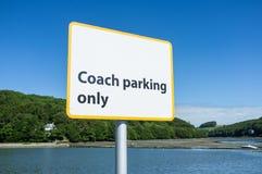Entraîneur Parking Only Photo libre de droits