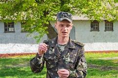 Entraîneurs militaires Image libre de droits