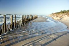 Entra a areia Foto de Stock Royalty Free