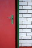 A entrada à casa Imagens de Stock