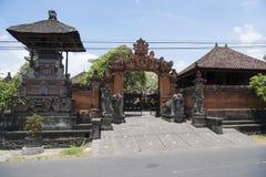 Entrada à casa privada, Bali Imagem de Stock