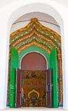 A entrada à catedral da intercessão de Suzdal Foto de Stock