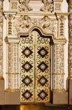 Entrada à catedral ortodoxo da suposição em Kiev fotos de stock royalty free